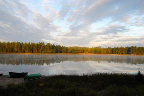 lake wequas sunset